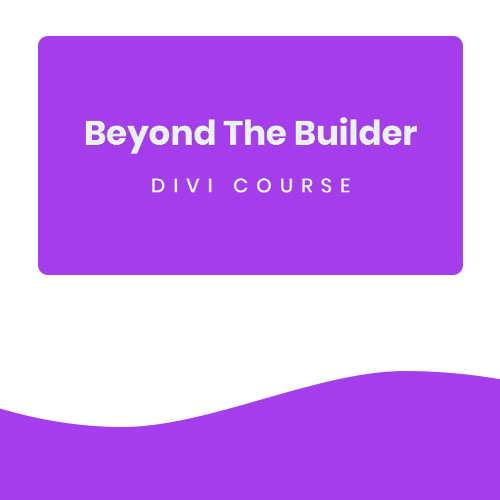 beyong the builder course