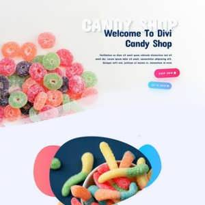 candy shop landing page scaled