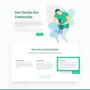 charity landing page scaled