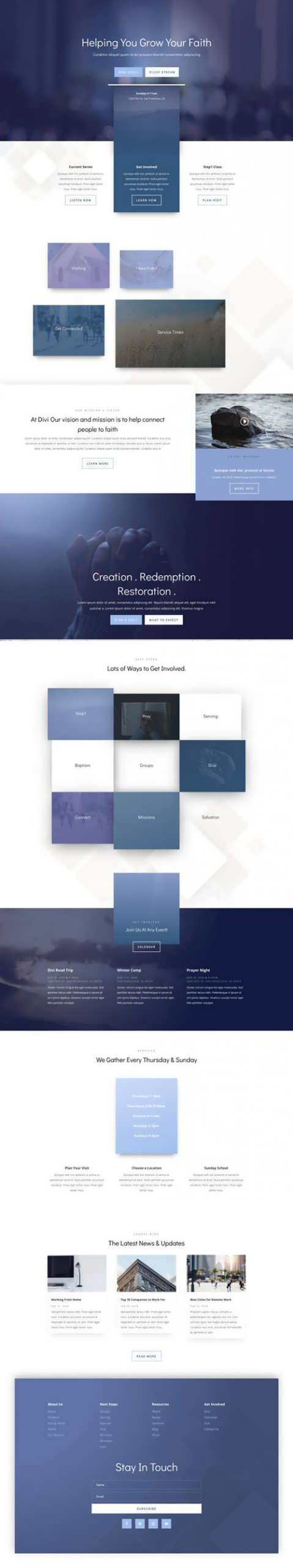 church landing page scaled
