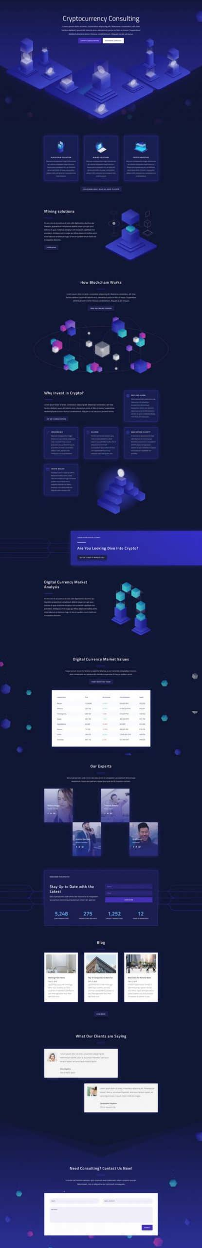 cryptocurrency landing page scaled