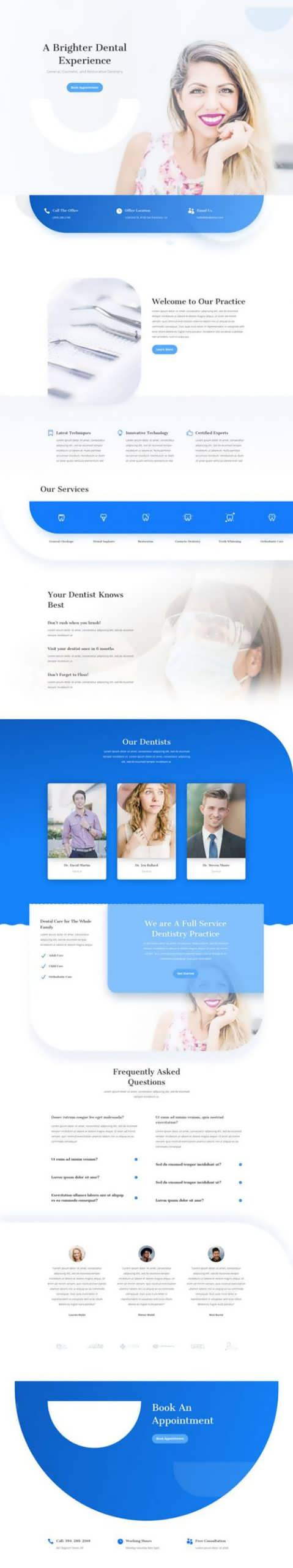 dentist landing page scaled