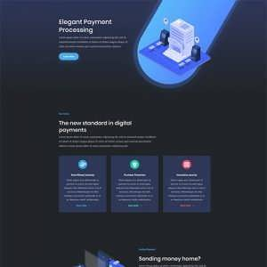 digital payment divi layout