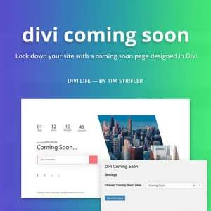 divi coming soon featured