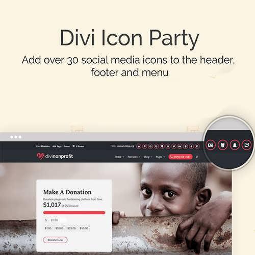 divi icon party