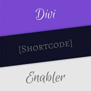 divi shortcode enabler