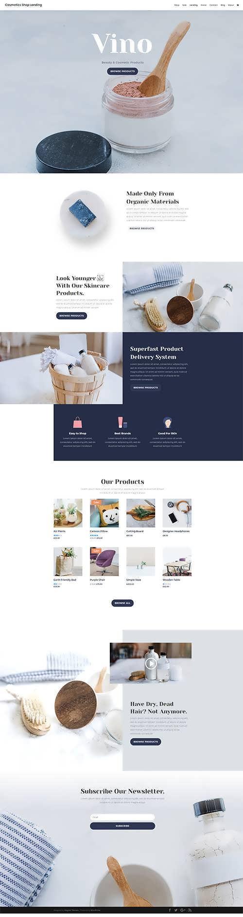 ecommerce divi layout