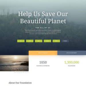 environmental nonprofit landing page scaled