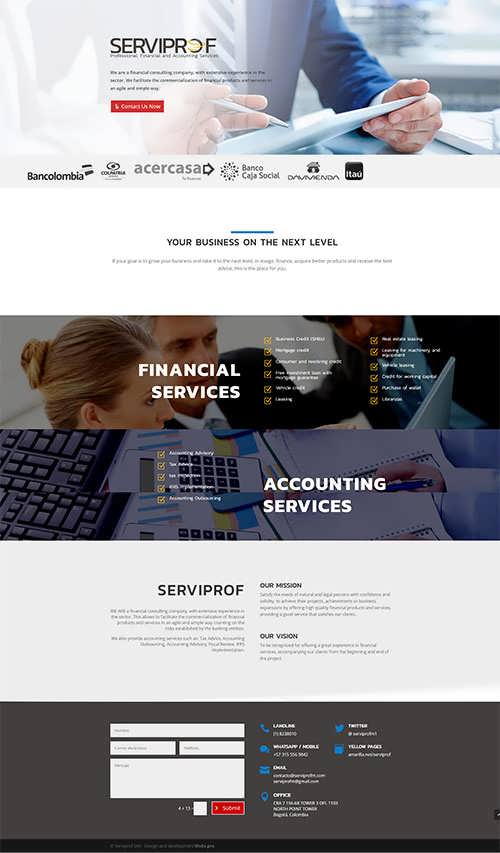 financial consulting company