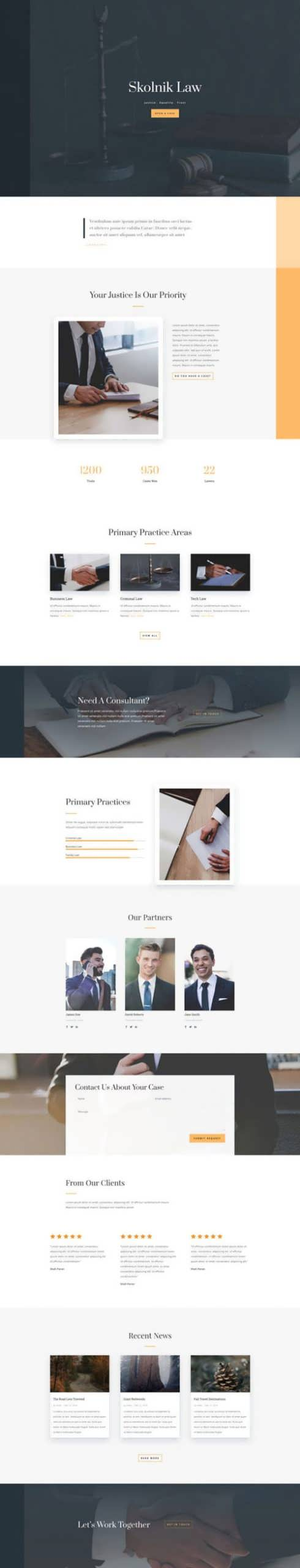 law firm landing page scaled