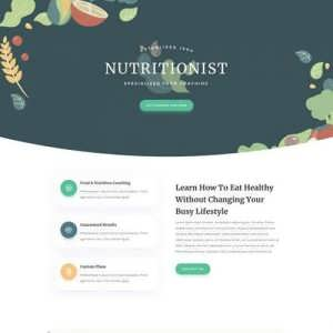 nutritionist landing page scaled