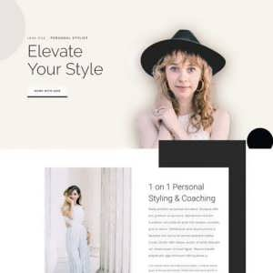 personal stylist landing page scaled