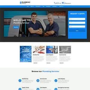 plumber divi site