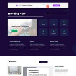 technology news landing page