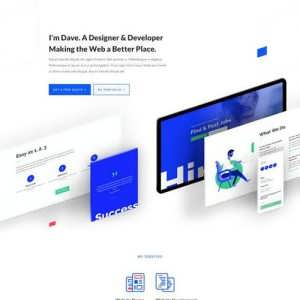 web freelancer landing page scaled