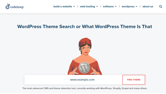 How to check or know if a site uses WordPress?